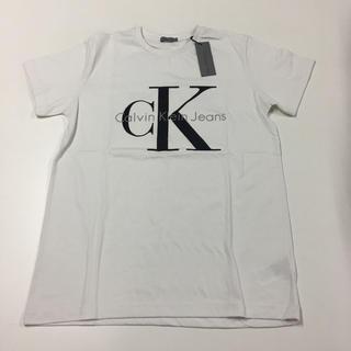 Calvin Klein - 【SALE】[XL]Calvin Klein〈カルバンクライン〉【ロゴTシャツ】