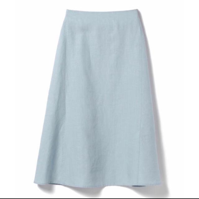 Demi-Luxe BEAMS(デミルクスビームス)のdemi-luxe beams リネンスカート レディースのスカート(ロングスカート)の商品写真