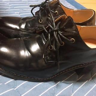 ウィゴー(WEGO)のWEGO レースアップヒールシューズ(ローファー/革靴)