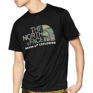 THE NORTH FACE - [ザ・ノース・フェイス] Tシャツ ショートスリーブカモフラージュロゴ メンズL