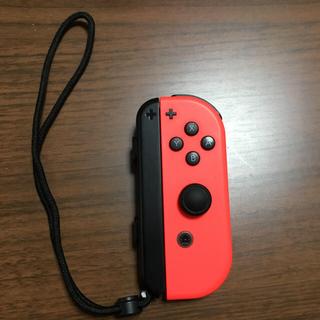 Nintendo Switch - 任天堂ジョイコン ネオンレッド  右  純正品