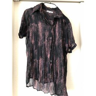 セマンティックデザイン(semantic design)のセマンティックデザイン透けシャツ(シャツ)