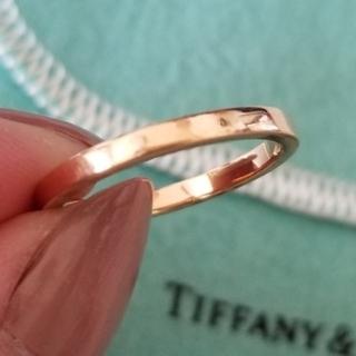 Tiffany & Co. - ティファニー クラシックバンドリング K18ローズゴールド #11