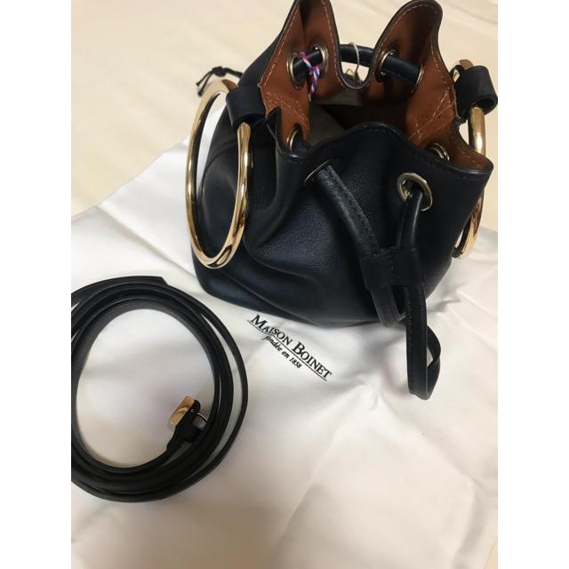 DEUXIEME CLASSE(ドゥーズィエムクラス)の新品未使用 メゾンボワネ MAISON BOINET リングバッグ レディースのバッグ(ハンドバッグ)の商品写真