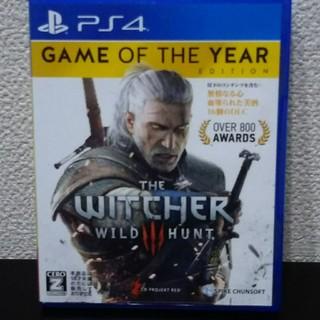 PlayStation4 - ウィッチャー3 ワイルドハント ゲームオブザイヤーエディション PS4版