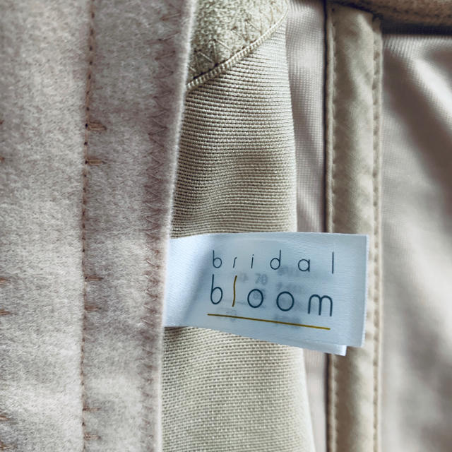 BLOOM(ブルーム)のbloom  ブライダルインナー C70 レディースの下着/アンダーウェア(ブライダルインナー)の商品写真