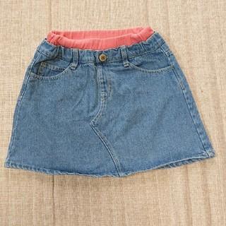 ブリーズ(BREEZE)の☆美品☆BREEZE デニム スカート 120cm(スカート)