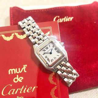 Cartier - 美品✨ カルティエ SM Cartier パンテール シルバー レディース腕時計