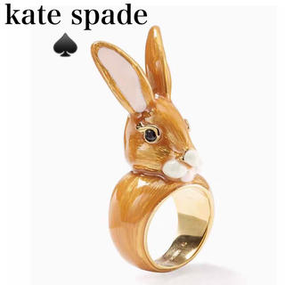 ケイトスペードニューヨーク(kate spade new york)のウサギ うさぎ 兎 ラビット 耳 みみ リング 指輪 ゆびわ7号 ケイトスペード(リング(指輪))