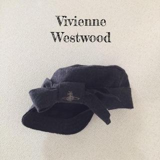 ヴィヴィアンウエストウッド(Vivienne Westwood)のvivienne 秋冬 帽子(キャップ)
