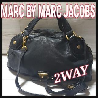 MARC BY MARC JACOBS - MARC BYマークジェイコブス ハンド ショルダーバッグ 2way レザー 黒