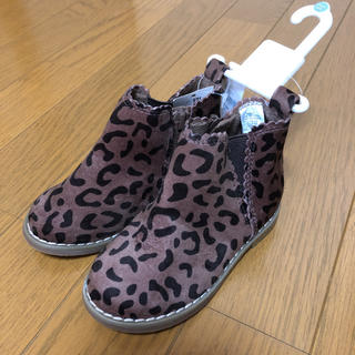 ベビーギャップ(babyGAP)の未使用♡baby gap♡ヒョウ柄ブーツ(ブーツ)