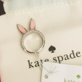 kate spade new york - ウサギ うさぎ 兎 ラビット 耳 みみ リング 指輪 ゆびわ 6 ケイトスペード