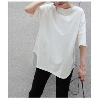 アダムエロぺ(Adam et Rope')の新品ADAM ET ROPEアダムエロペBIG TEE白ホワイトビッグTシャツ(Tシャツ(半袖/袖なし))