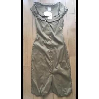 ヴィヴィアンウエストウッド(Vivienne Westwood)のヴィヴィアンウエストッド ワンピース ドレス 新品未使用(ミディアムドレス)