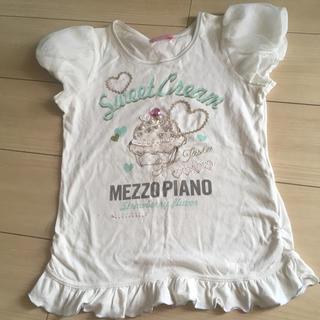 mezzo piano - メゾピアノ 150 Tシャツ