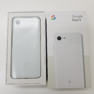 ANDROID - 【新品】Google Pixel3 SIMフリー Clearly White