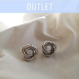 IENA SLOBE - 【※ワケあり※】knot pierce  *  silver