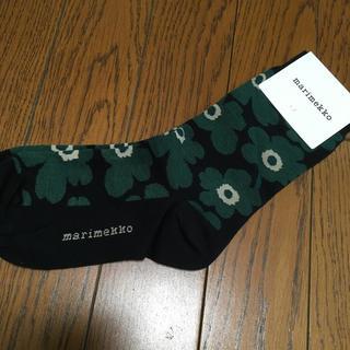 マリメッコ(marimekko)のマリメッコ ウニッコ 新色 靴下 ソックス(ソックス)