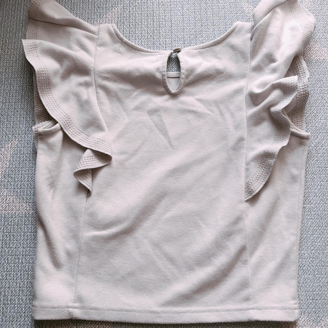 Lily Brown(リリーブラウン)のLily Brown ❤︎ フリルトップス レディースのトップス(カットソー(半袖/袖なし))の商品写真