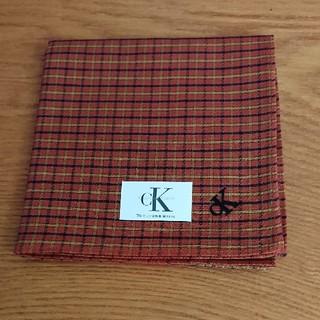 カルバンクライン(Calvin Klein)のCalvin Klein ハンカチ 新品未使用(ハンカチ/ポケットチーフ)