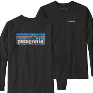 patagonia - 新品タグ付 パタゴニア ロンT P-6ロゴ M