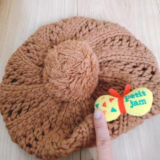 プチジャム(Petit jam)の美品ベレー帽(帽子)