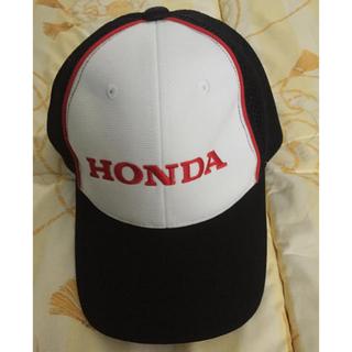 ホンダ(ホンダ)のHONDA cap 帽子 黒 白 赤 本田 バイク 車 自動車(キャップ)