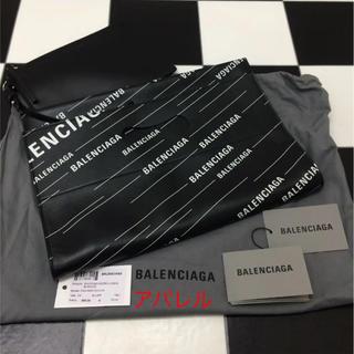 Balenciaga - 新品 2019SS バレンシアガ 2way ロゴ トートバッグ クラッチバッグ