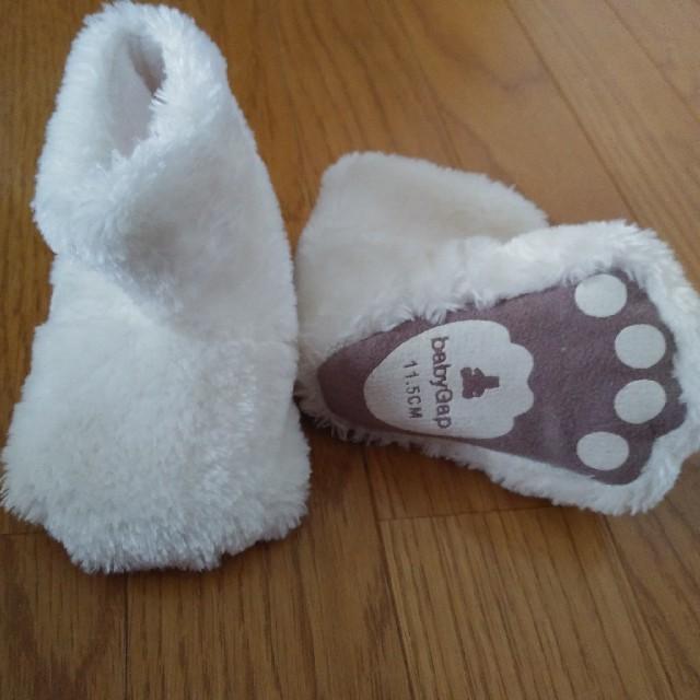 babyGAP(ベビーギャップ)のBaby gap プレシューズ 11.5cm キッズ/ベビー/マタニティのベビー靴/シューズ(~14cm)(ブーツ)の商品写真