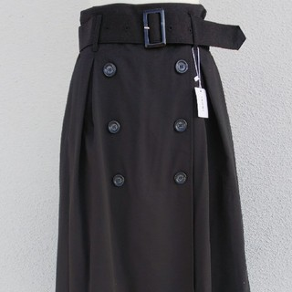INGNI - 未使用 INGNI ベルト付きトレンチスカート Mサイズ ブラック