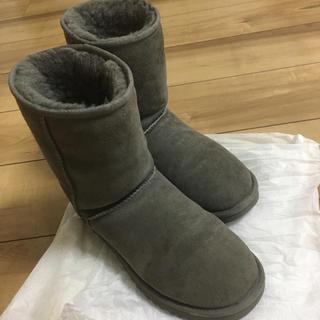アグ(UGG)の正規品★ムートンブーツ グレー(ブーツ)