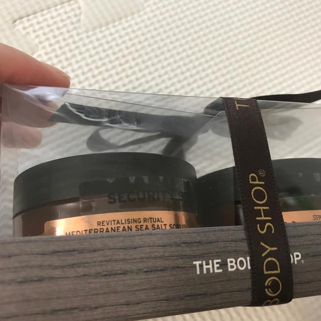 THE BODY SHOP(ザボディショップ)の新品 ボディショップ ボディクリームとスクラブ コスメ/美容のボディケア(ボディクリーム)の商品写真