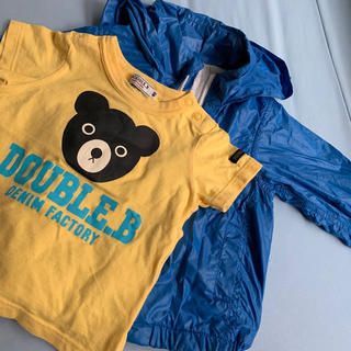 ミキハウス(mikihouse)のミキハウスTシャツ、ユニクロ アウター80サイズ(Tシャツ)