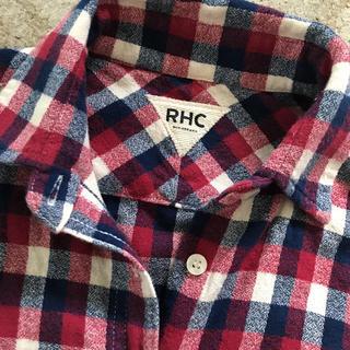 ロンハーマン(Ron Herman)のRHC♡チェック柄  シャツ(シャツ/ブラウス(長袖/七分))