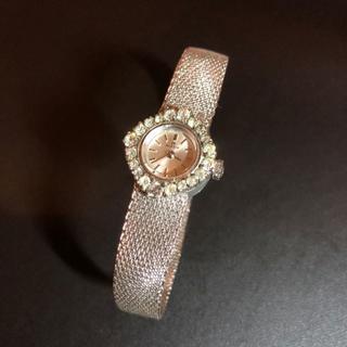 MILUS レディース 腕時計 手巻き