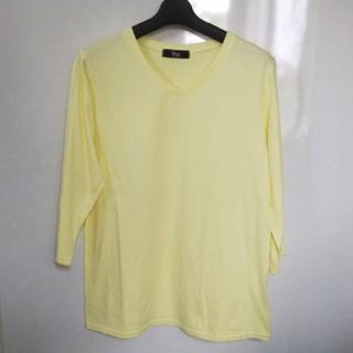 Vネックカットソー シャツ(Tシャツ(長袖/七分))