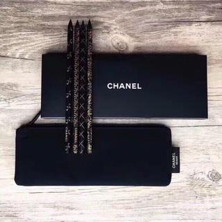 CHANEL - CHANEL ノベルティ ペンケース 鉛筆 セット