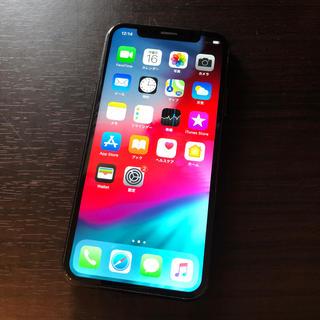 iPhone - iPhoneX 64GB SIMフリー ブラック 中古 本体
