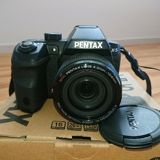 ペンタックス(PENTAX)の★PENTAX X-5  classic black★オールマイティモデル!!(デジタル一眼)