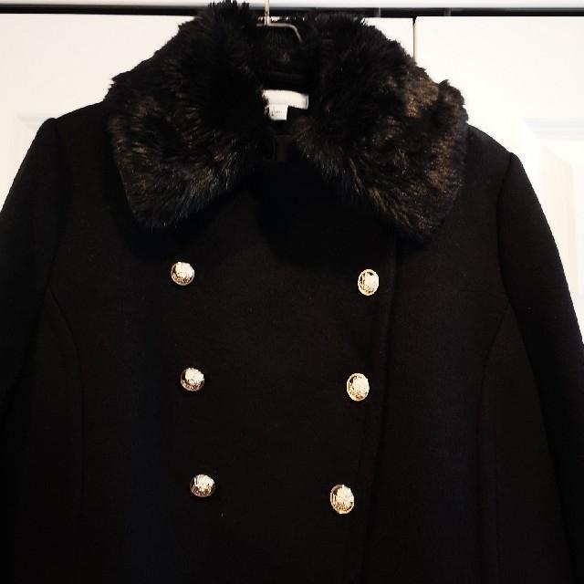 H&M(エイチアンドエム)の大きいサイズH&Mコートsize46XLXXLピーコートエイチアンドエム レディースのジャケット/アウター(ピーコート)の商品写真