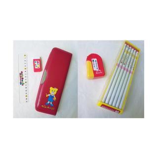 ミキハウス(mikihouse)のミキハウス 筆箱 さし 消しゴム 鉛筆 鉛筆削り 90 100 110 入学(その他)