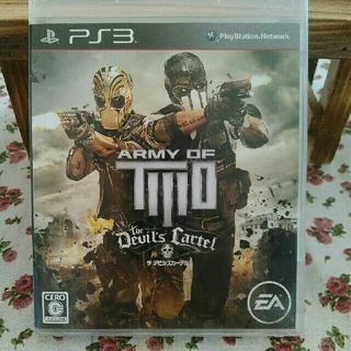 PlayStation3 - PS3 ARMY  OF TWO THE Devils Cartel
