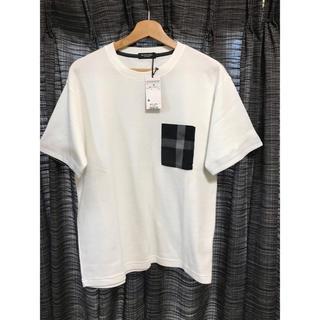 バーバリーブラックレーベル(BURBERRY BLACK LABEL)のバーバリー Tシャツ Mサイズ(Tシャツ/カットソー(半袖/袖なし))