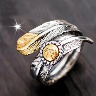 フェザーリング  イーグルリング 指輪 フリーサイズ(リング(指輪))