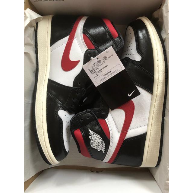 NIKE(ナイキ)のAIRJORDAN1 Gym Red AJ1 ジョーダンワンジムレッド28cm メンズの靴/シューズ(スニーカー)の商品写真