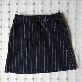 ローリーズファーム(LOWRYS FARM)のLOWRYSFARM ネイビーストライプスカート (ミニスカート)