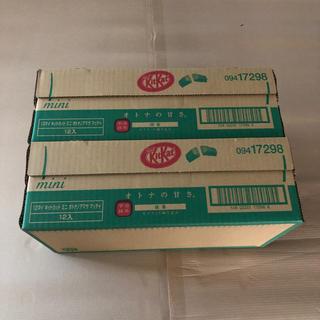 Nestle - ネスレ KitKat オトナの甘さ 抹茶 2ケース 1000円!