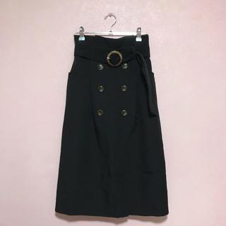 MAJESTIC LEGON - トレンチ風ロングIラインスカート
