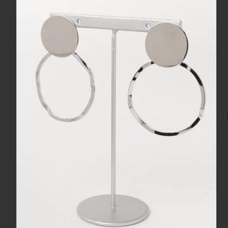 エイチアンドエム(H&M)の新品未使用 BIC リング ピアス シルバー ピアス silver(ピアス)